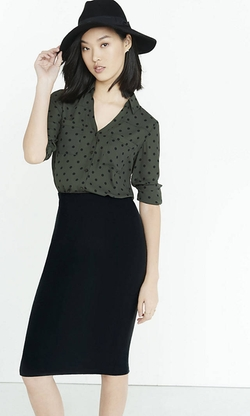 Express - Polka Dot Portofino Shirt