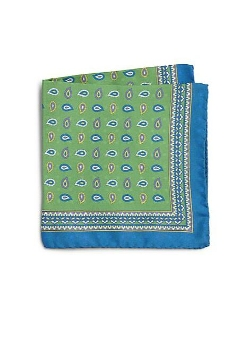 Saks Fifth Avenue Collection - Paisley Pocket Square