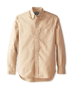 Gitman Vintage - Solid Button Down Sportshirt