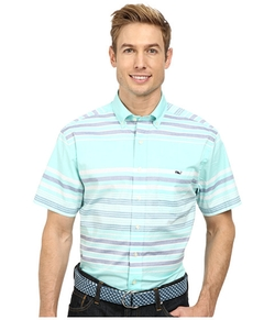 Vineyard Vines  - Short Sleeve Tucker Shirt-Tuthill Stripe