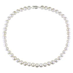 Target - Cultured Freshwater Pearls Sterling Strand Silver Necklace