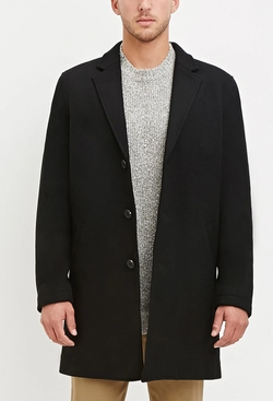 21men - Wool-Blend Overcoat