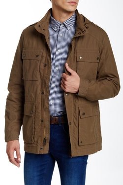 Cole Haan - Brushed Cotton Field Jacket