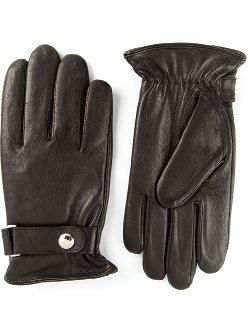 Polo Ralph Lauren  - Buttoned Strap Gloves