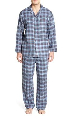 Nordstrom - Flannel Pajama Set