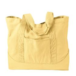 Authentic Pigment  - Snap-On Large Canvas Tote