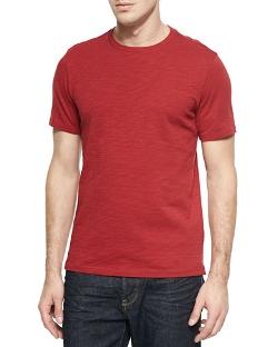 Vince - Slub Crewneck Tee Shirt
