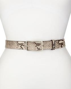 Rag & Bone - Tate Snake-Print Belt