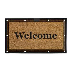 Evergreen Flag & Garden  - Traditional Welcome LED Mat