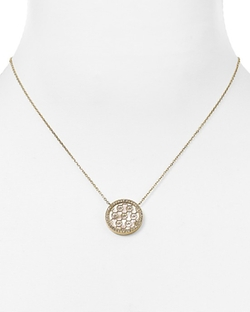Michael Kors  - Monogram Pendant Necklace