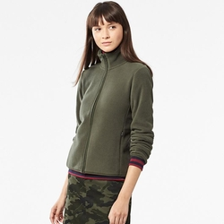 Uniqlo - Women Fleece Long-Sleeve Full-Zip Jacket