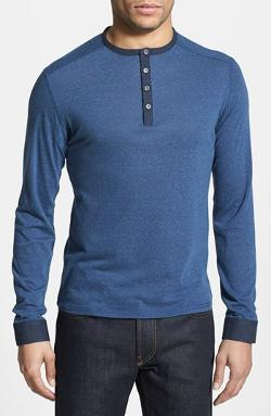 Vince Camuto  - Slim Fit Knit Henley