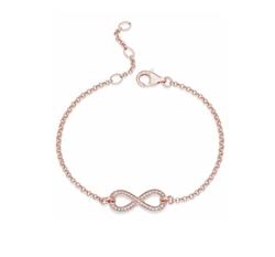 Thomas Sabo - Infinity Rose Gold Bracelet