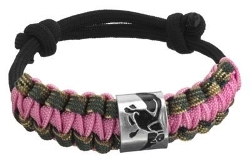 Duck Commander - Dynasty Braided Pink Bracelet