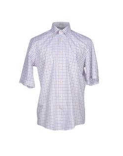 Maestrami - Short Sleeve Bottom Plaid Shirt