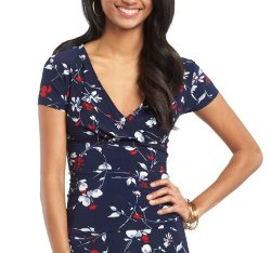 Chaps - Womens Floral Top