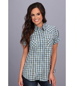 Roper  - Mini Buffalo Check Top