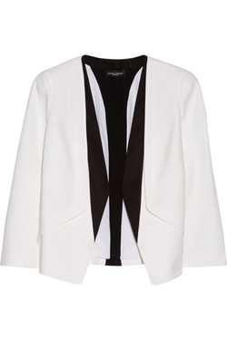 Narciso Rodriguez - Silk Faille-Trimmed Wool-Crepe Blazer