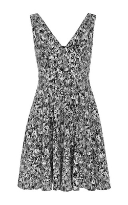 Opening Ceremony - Cut Collage Jacquard Penn Dress