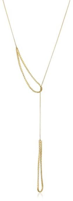 By Boe - Slip Knot Necklace 14k Gold Filled lariat