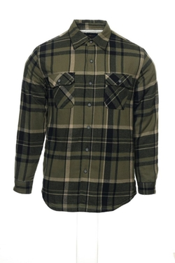 Club Room - Plaid Shirt Jacket