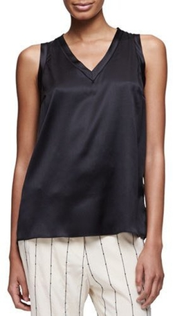 Brunello Cucinelli - Sleeveless V-Neck Top