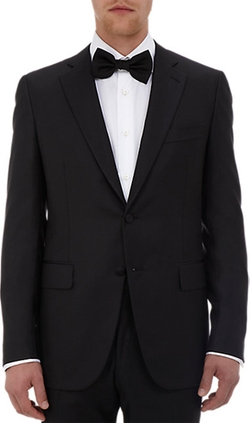 Isaia - Aquaspider Gregory Two-Button Tuxedo Suit