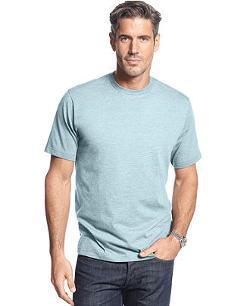 John Ashford  - Big and Tall Short Sleeve Crew Neck T Shirt