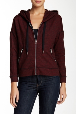The Kooples - Flecked Hoodie Jacket