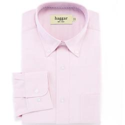 Haggar - Solid Oxford Dress Shirt