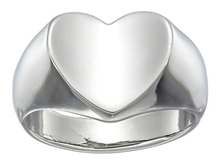 Guess - Heart Signet Ring