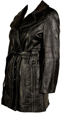 Ballyhoovintage - Ultra Cool 1970s Leather Jacket