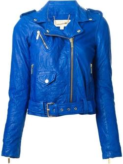 Michael Michael Kors - Wrinkled Biker Jacket
