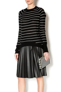 Line Knitwear - Striped Cashmere Sweater