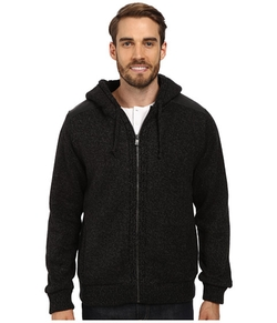 DKNY Jeans - Sherpa Lined Full Zip Hooded Sweater