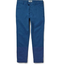 Officine Generale   - Cotton-Twill Trousers