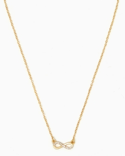 Charming Charlie - Partial Single Infinity Mini Pendant Necklace