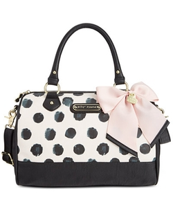 Betsey Johnson - Dot Satchel Bag