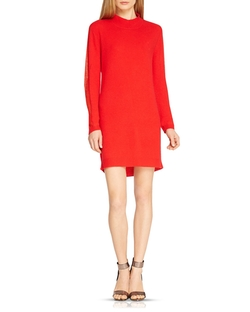 Halston Heritage - Cowl Back Cashmere Sweater Dress