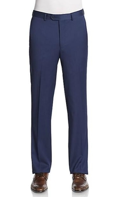 Saks Fifth Avenue  - Slim-Fit Wool Trousers