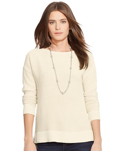 Lauren Ralph Lauren  - Crew Neck Sweater