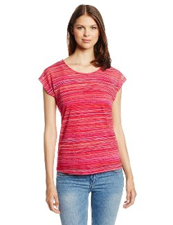 Rafaella - Hazy Summer Sheer Stripe Tee Shirt