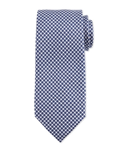 Tom Ford - Geo-Check Silk Tie