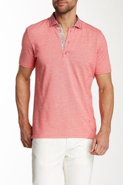 Stone Rose - Short Sleeve Pique Polo Shirt