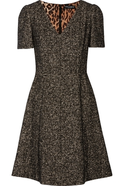 Dolce & Gabbana - Wool-Blend Tweed Dress