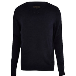 River Island - V-Neck Sweater