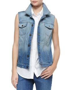 CJ by Cookie Johnson - Triumph Denim Vest