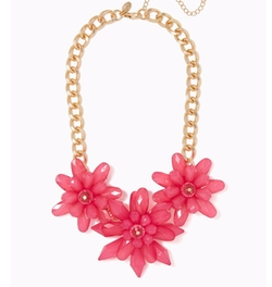 Charming Charlie - Sprouting Floral Necklace