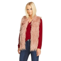 Mossimo - Shaggy Faux Fur Vest