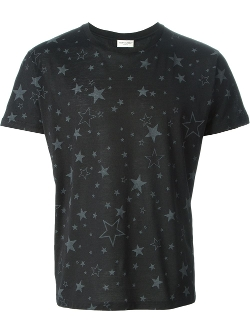 Saint Laurent  - Star Print T-Shirt